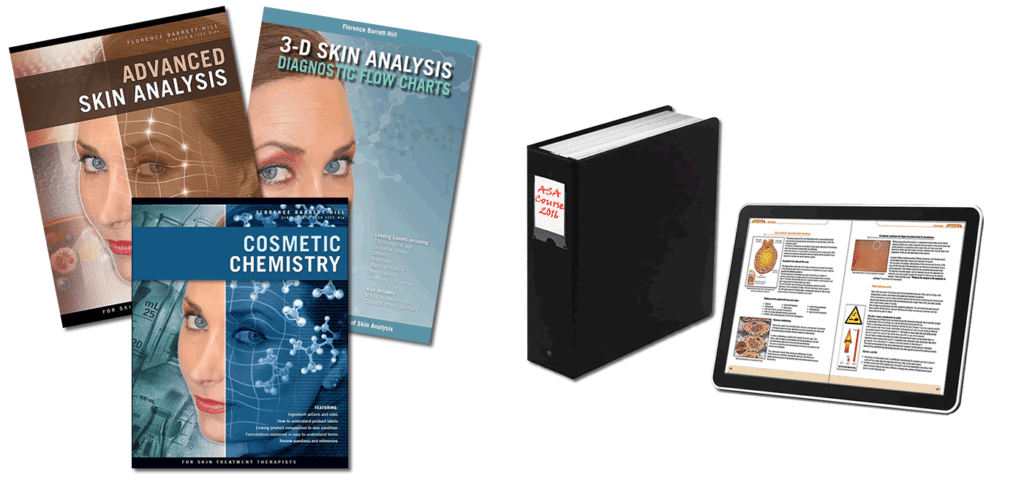 Books for the Advanced Skin Analysis course